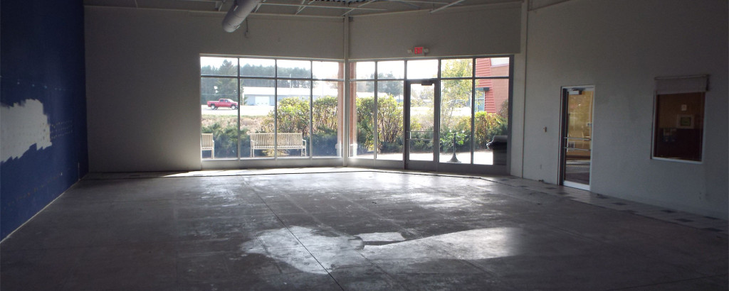 A featured image of a space for lease