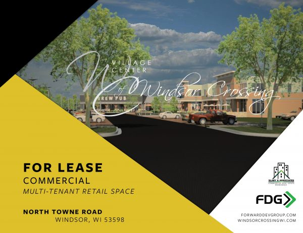 A wonderful commercial property space for lease.